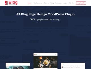 blogdesigner.solwininfotech.com screenshot