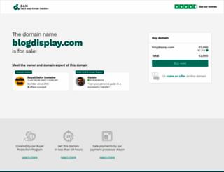 blogdisplay.com screenshot