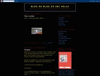 blogdoblogabcnelas.blogspot.com screenshot