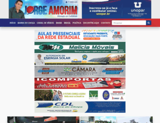 blogdojorgeamorim.com.br screenshot