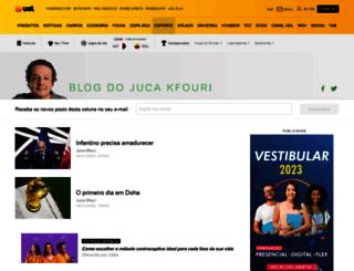 blogdojuca.uol.com.br screenshot