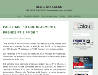 blogdolalau.wordpress.com screenshot