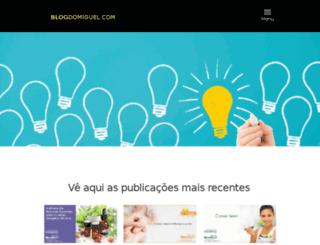 blogdomiguel.com screenshot