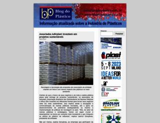 blogdoplastico.com.br screenshot