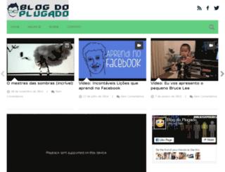 blogdoplugado.com.br screenshot