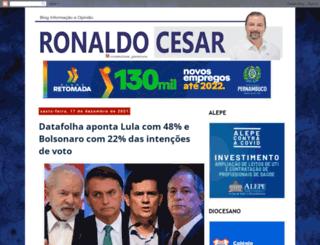 blogdoronaldocesar.com.br screenshot