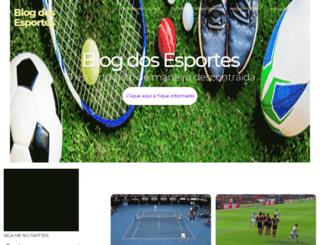 blogdosesportes.com screenshot