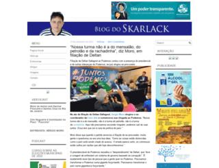 blogdoskarlack.com screenshot