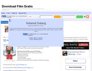 blogdownloadfilmgratis.blogspot.com screenshot