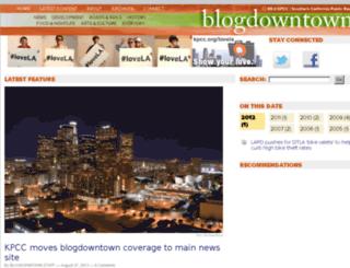 blogdowntown.com screenshot