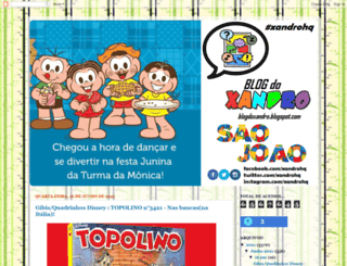 blogdoxandro.blogspot.com.br screenshot