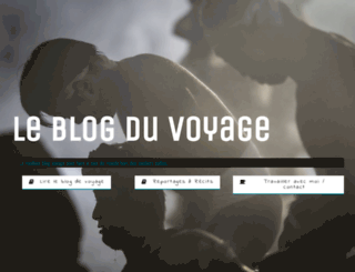 blogduvoyage.fr screenshot