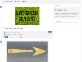 blogeasyway.tumblr.com screenshot