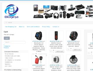 blogeja.fi screenshot