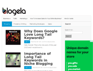 blogela.com screenshot