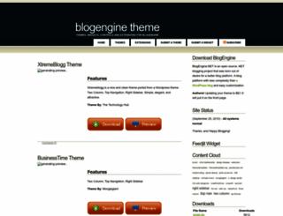 blogenginetheme.com screenshot