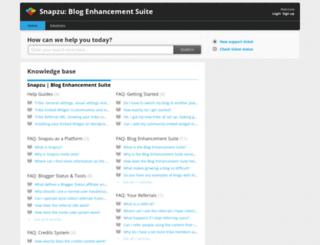 blogenhancementsuite.freshdesk.com screenshot