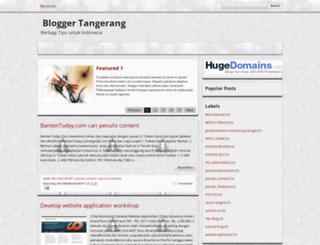 blogertangerang.blogspot.com screenshot