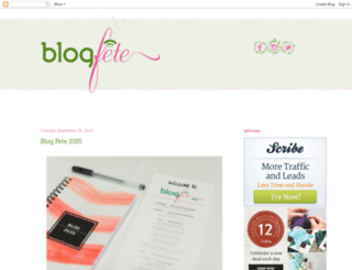 blogfeteblog.blogspot.com screenshot