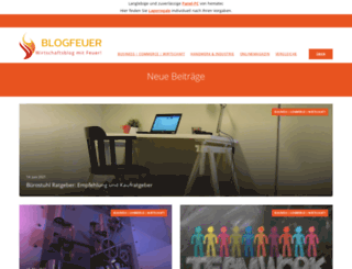 blogfeuer.de screenshot