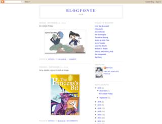 blogfonte.blogspot.com screenshot