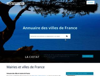 blogfr.communes.com screenshot