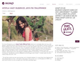 blogg.wimp.no screenshot
