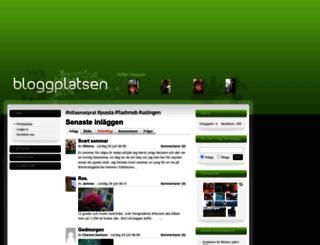 bloggagratis.se screenshot