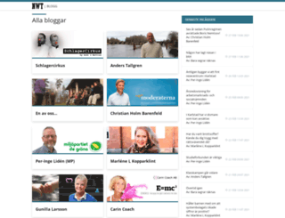 bloggar.nwt.se screenshot