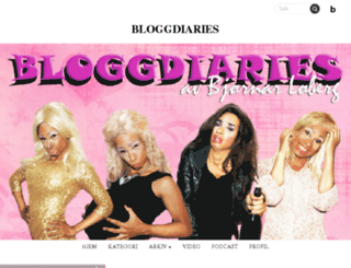 bloggdiaries.blogg.no screenshot