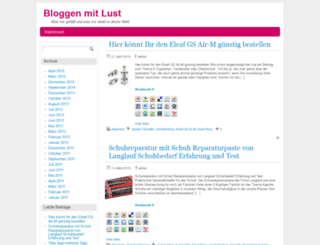 bloggen-mit-lust.de screenshot