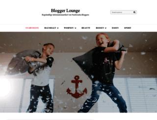 blogger-lounge.de screenshot