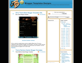 blogger-templates-designs.blogspot.com screenshot