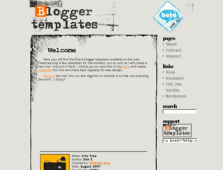 blogger-templates.deceblog.net screenshot