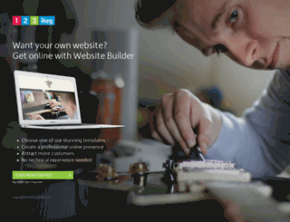 blogger.withbootstrap.com screenshot