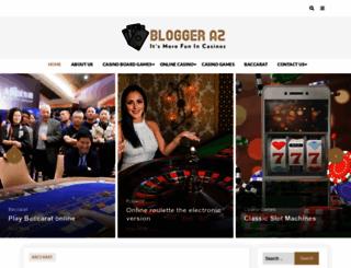 bloggeraz.com screenshot