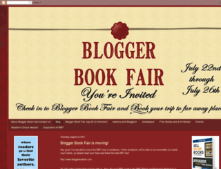 bloggerbookfair.blogspot.com screenshot
