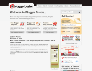 bloggerbuster.com screenshot