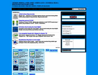 bloggerjaya.blogspot.com screenshot