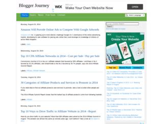 bloggerjourney.com screenshot