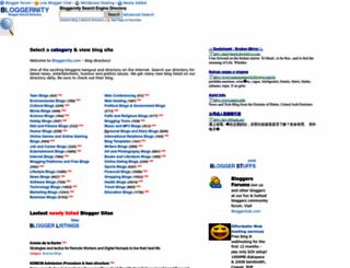bloggernity.com screenshot