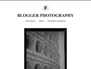 bloggerphotography.wordpress.com screenshot