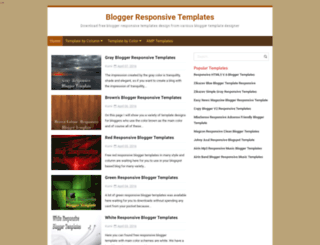 bloggerresponsivetemplates.blogspot.ro screenshot