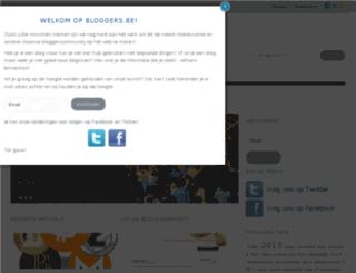 bloggers.be screenshot