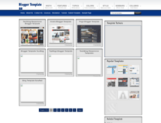 bloggertemplate88.blogspot.com screenshot