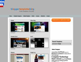 bloggertemplatesblog.com screenshot