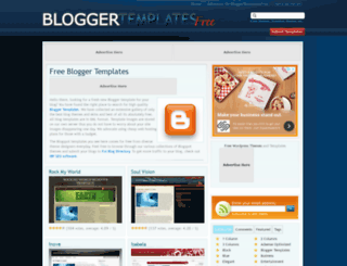 bloggertemplatesfree.com screenshot