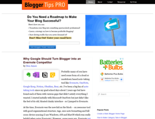 bloggertipspro.com screenshot
