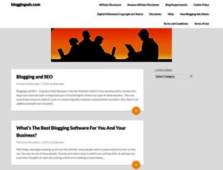 bloggingads.com screenshot