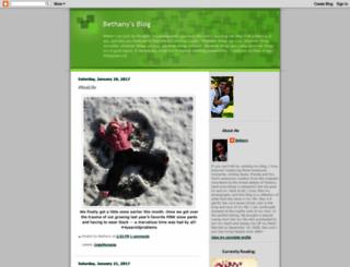 bloggingbeth.blogspot.com screenshot